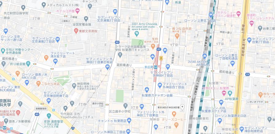 東京らしさを寄り道ルート